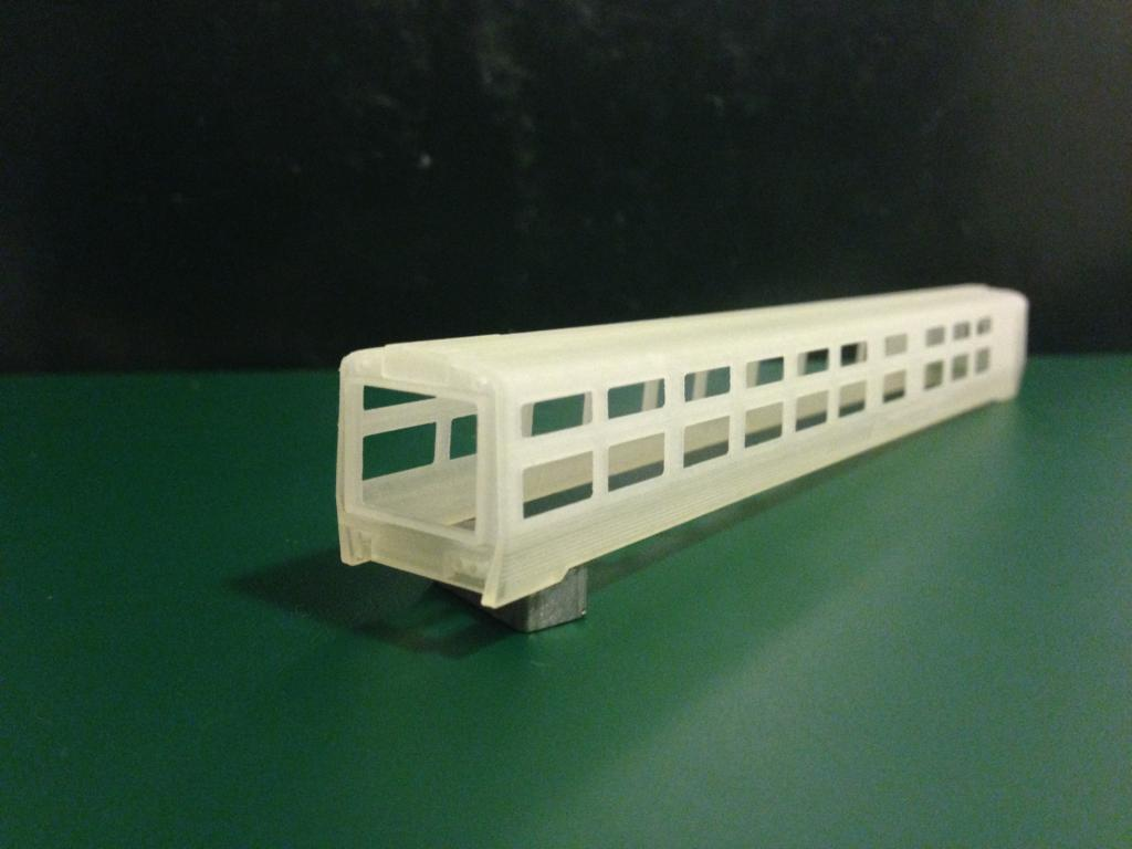 My 3D printed Amtrak 10001 and 10004