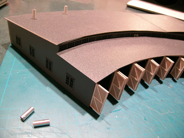Scratchbuilding A Roundhouse Page 2